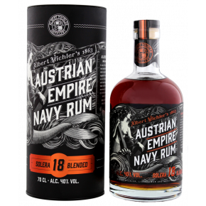 Albert Michler's - Austrian Empire - Navy Rum - 18 års blended
