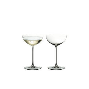 2x Riedel Veritas Coupe / Cocktail 6449/09