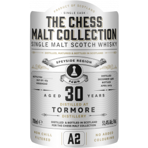 Tormore, 1988 – 30 Years Old Speyside Single Malt – 51,4 % (Hogshead)