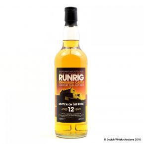 Runrig - Aberlour Distillery - Duncan Taylor - 12 years Old Speyside Single Malt Whisky