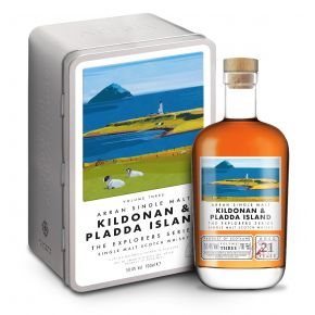 Arran Single Malt Kildonan & Pladda Island - The Explores Series - 21 år 50,4%