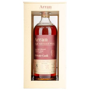 The Arran Malt - Private Cask C2639 - 2011 - 8 år