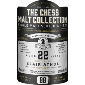 Blair Athol, 1995 – 22 Years Old Highland Single Malt – 57,2% (Sherry Butt)
