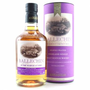 Ballechin 5th Edition Marsala - Heavily Peated Single Malt Whisky