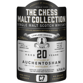 Auchentoshan, 1997 – 20 Years Old Lowland Single Malt – 56,7% (Bourbon Cask)