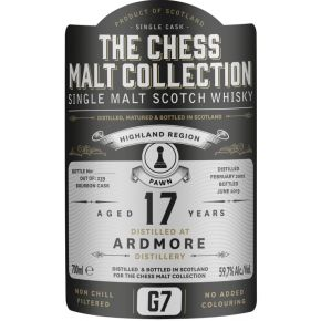 Ardmore, 2002 – 17 Years Old Highland Single Malt – 59,7% (Bourbon Cask)