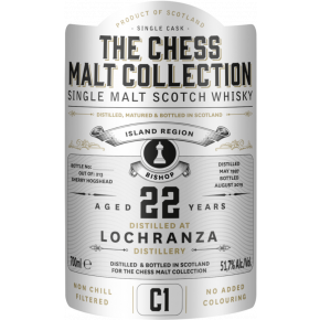 Lochranza, 1997 – 22 Years Old Island Single Malt – 51,7 % (Sherry Hogshead)