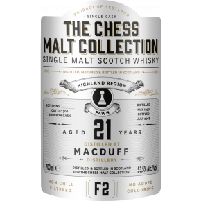 MacDuff, 1997 – 21 Years Old Highland Single Malt – 53,5% (Bourbon Cask)