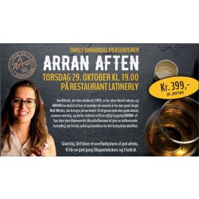 Whisky Smagning - Isle of Arran Distillers