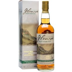 Macdonald's Glencoe 8 år Gammel Blended Malt Whisky 58% Cask Strength
