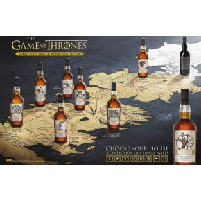 Game of Thrones Whisky samling 8fl.