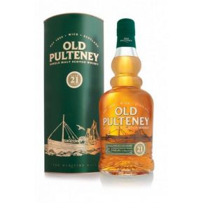 Old Pulteney Single Scotch 21 år 46%