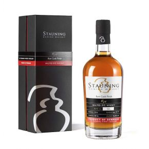 Stauning - Rye - Rum Cask Finish - Danish Whisky - 2016 Bottled September 2019