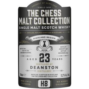 Deanston, 1996 – 23 Years Old Highland Single Malt – 52,7% (Bourbon Barrel)